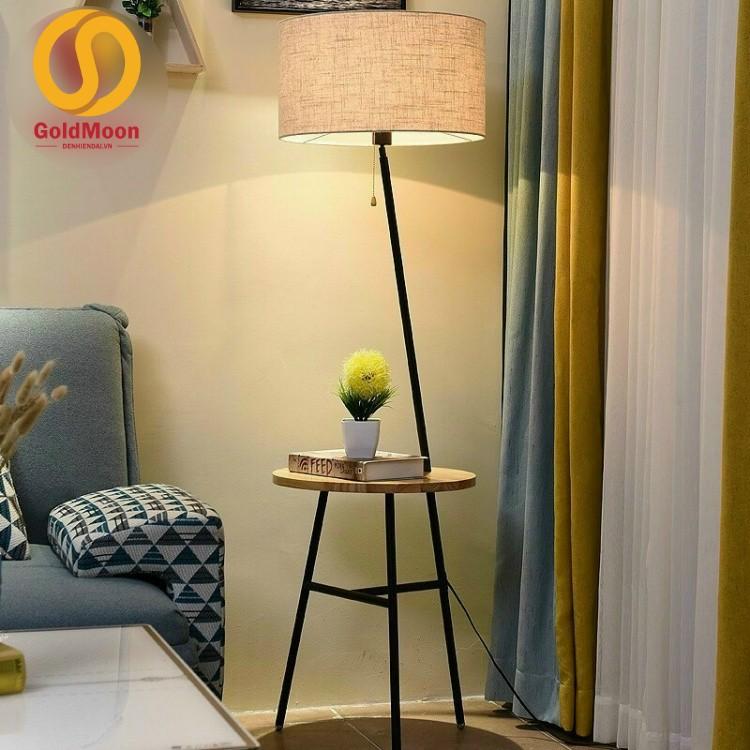 Đèn cây phòng khách, đèn cây đọc sách, đèn góc sofa, đèn cây phòng ngủ 6973