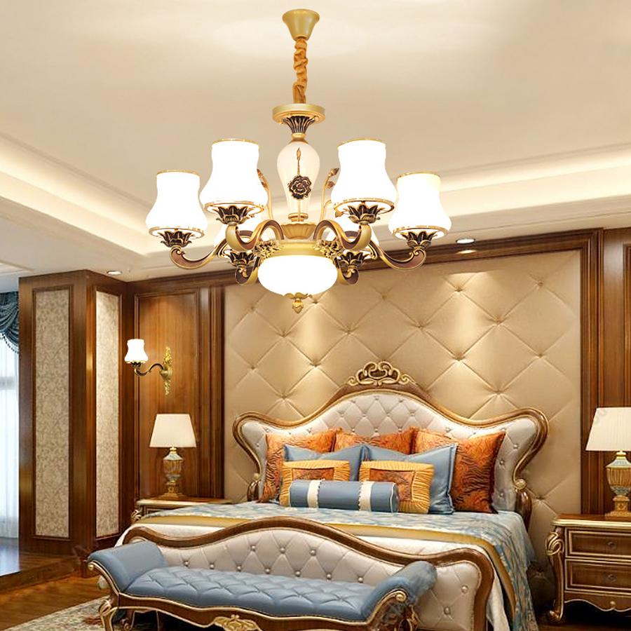 Bỏ túi 5 lưu ý khi chọn đèn chùm phòng ngủ Văn Duy lighting