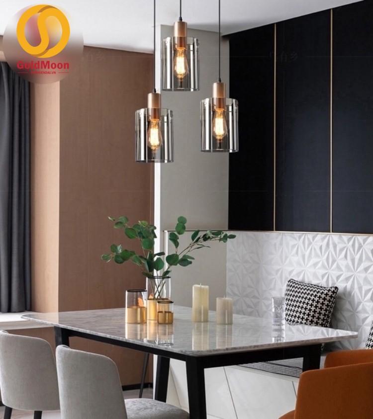Đèn thả hiện đại, đèn thông tầng, đèn thả bàn ăn 3629