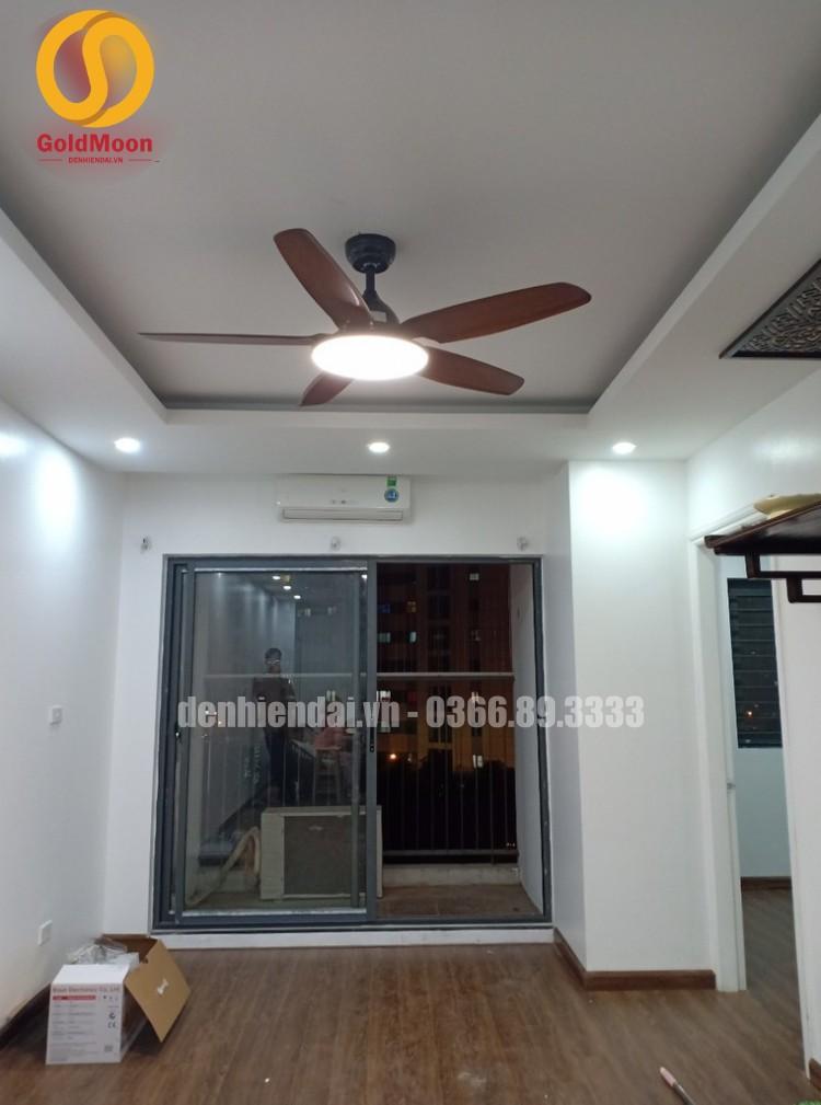 Quạt trần đèn hiện đại 52915C
