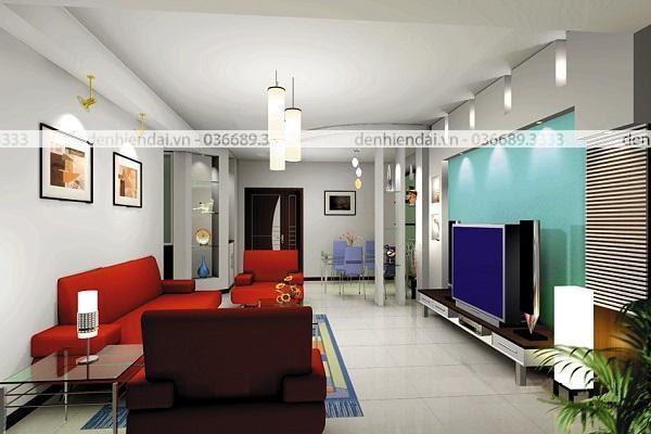Đèn trang trí hắt tường có tính ứng dụng cao trong trang trí